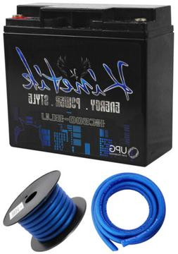 Kinetik HC600-BLU 600 Watt Blue Car Audio Power Cell/Battery
