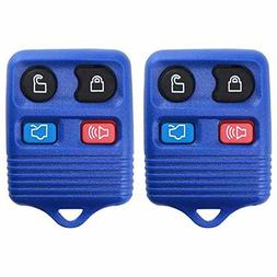 KeylessOption Keyless Entry Remote Control Car Key Fob Repla