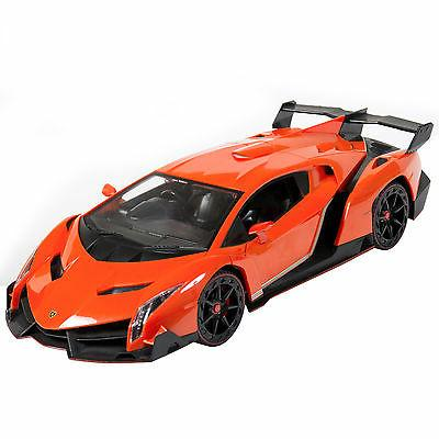 Best Choice 1/14 Scale RC Veneno Gravity Sensor Radio Remote Control Car Orange