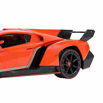 Best 1/14 Scale Lamborghini Gravity Sensor Radio Remote Control Car Orange