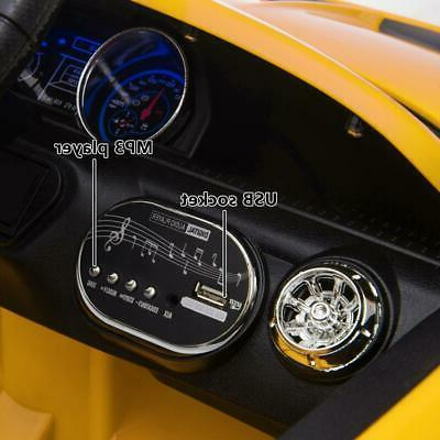 12V Luxury on Super Toy Remote Control Yellow