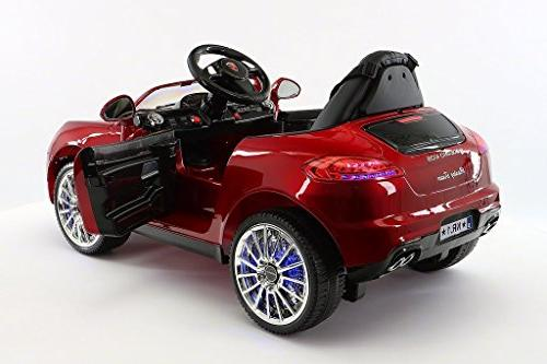 Moderno Kids Electric Ride on Car Battery Power LED MP3 Remote RC