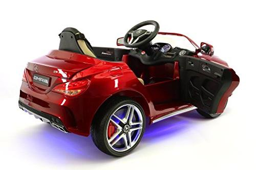 2018 12V CLA45 Electric Powered LED Ride on Toy Car Parental Remote