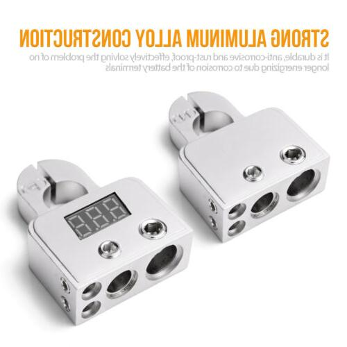2PACK Digital Battery Connectors AWG Power Post