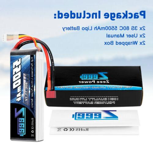 2x 11.1V Deans for Helicopter Airplane Car