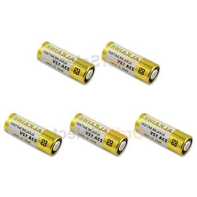 5 pack battery a23 23a 21 23