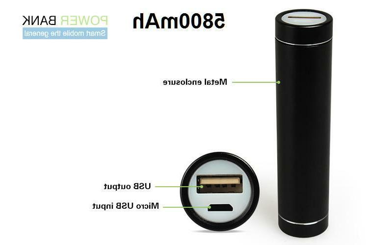 5800mAh USB Power Bank Charger For