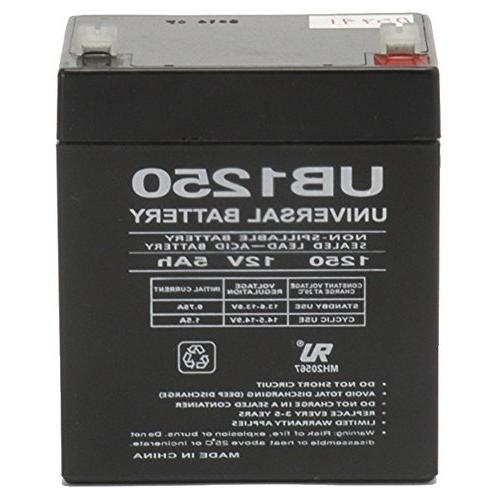 UPG 12V 5AH SLA Battery Replacement for ION Audio Job Rocker