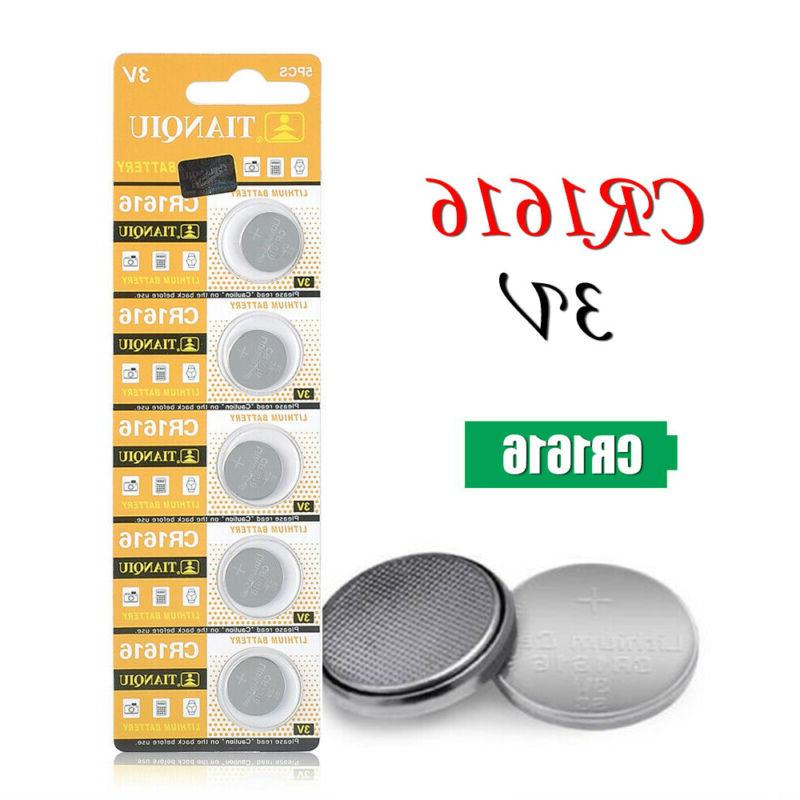 5pcs CR1616 3V Button For Toys Key Remote