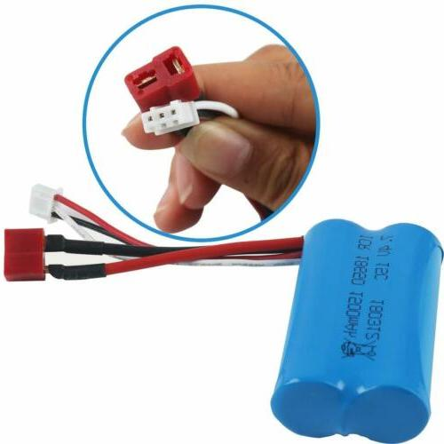 7.4V Lipo Battery T Plug USB Charger for Car Truck Buggy