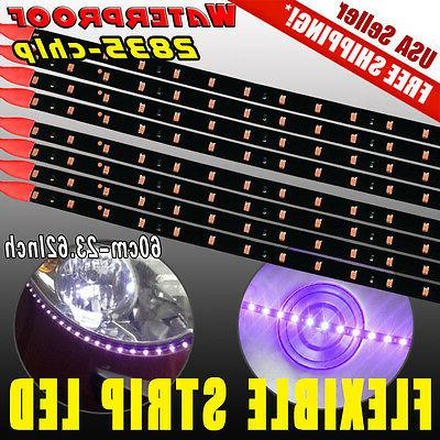 8x 60cm 24 car motorcycle 2835 led