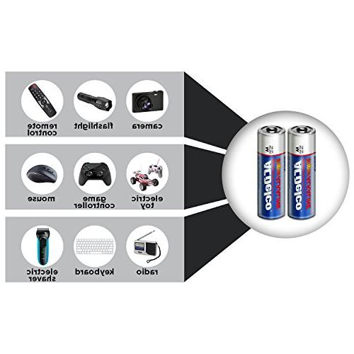 ACDelco Super Batteries Package, 100 Count