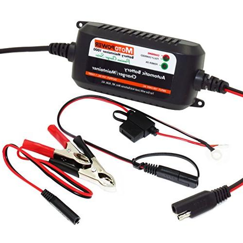 MOTOPOWER 1.5Amp Fully Automatic for ATVs, RVs, Boat and More. Eco Friendly