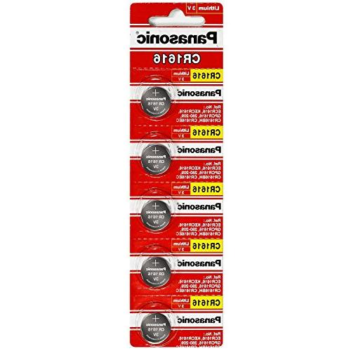 Panasonic CR1616 3V Coin Cell Lithium Battery, Retail Pack o