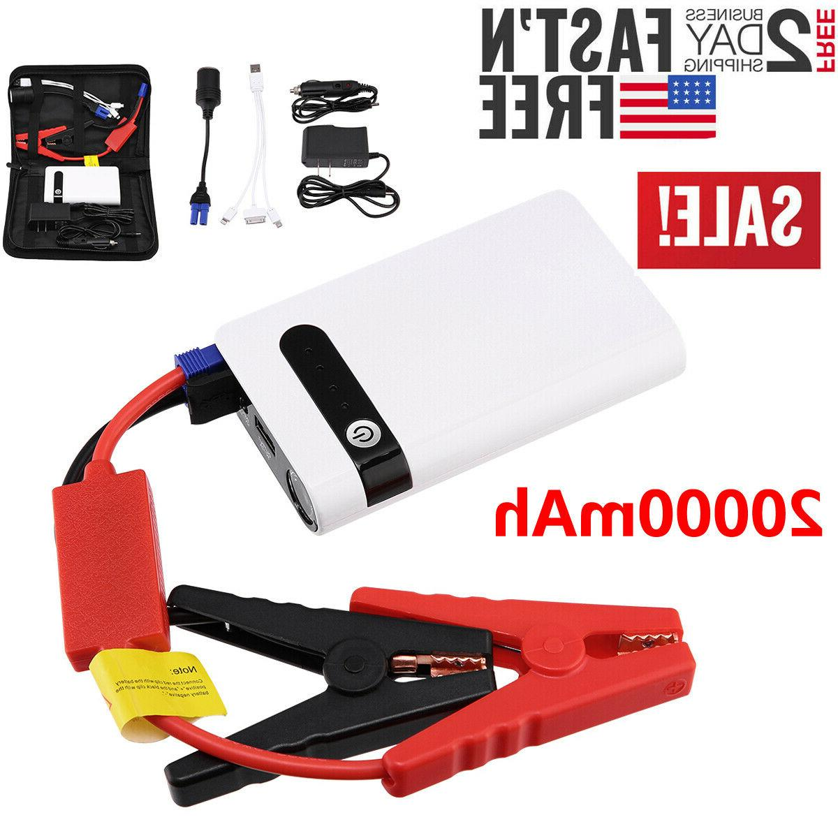 Portable Car Starter Vehicle Battery Charger