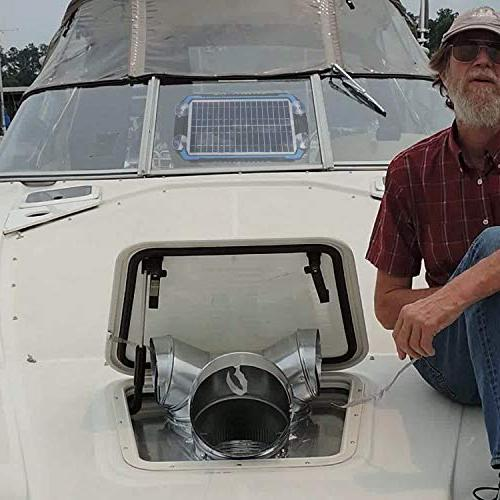 SUNER Solar Car Charger & Maintainer - Solar Kit Boat, Powersports,