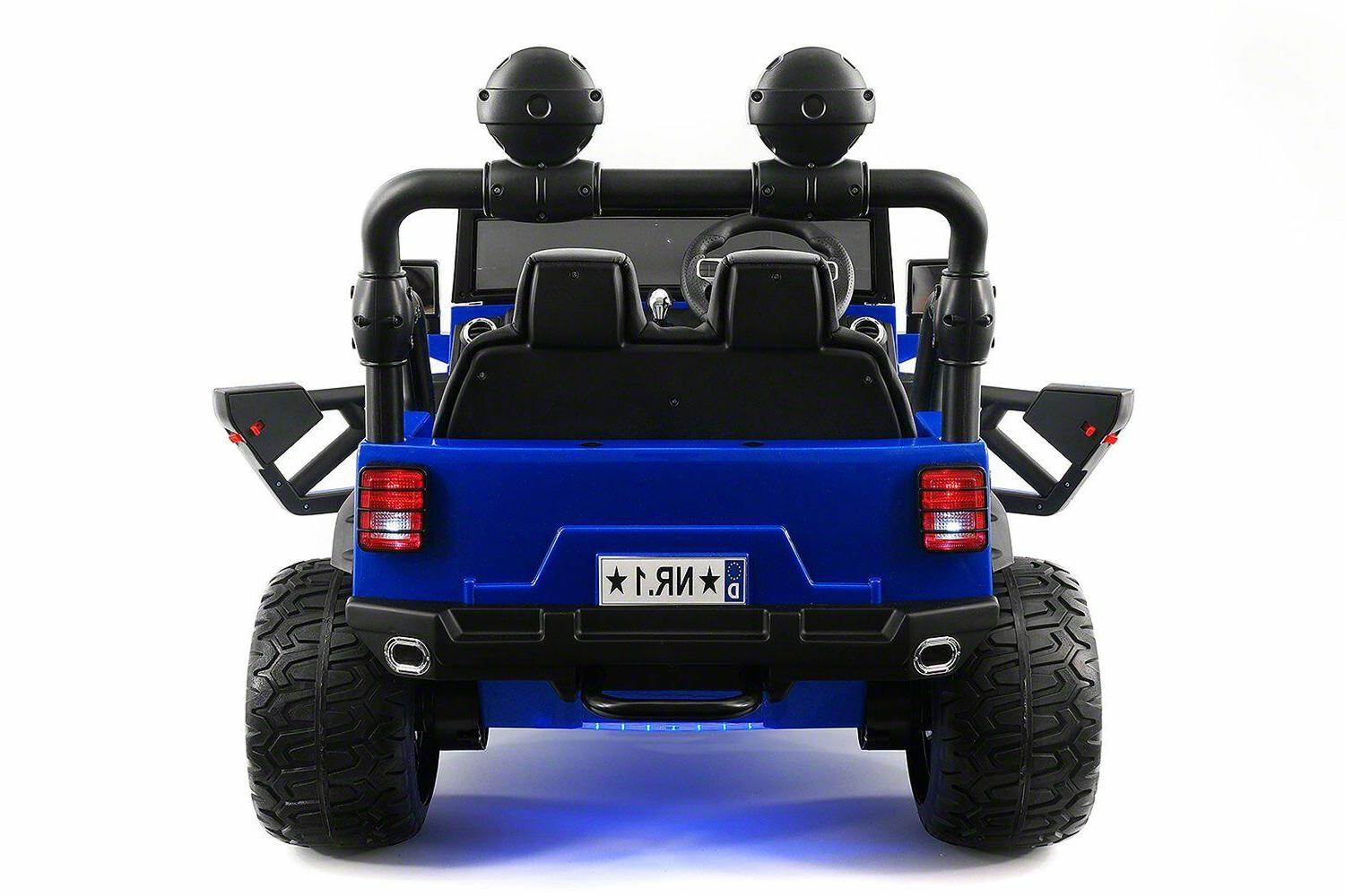 Battery 12V Electric Ride-On Explorer Two Seater MP3
