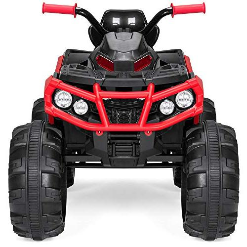 Best Choice Products 12V Kids Powered Ride-On Vehicle Reverse Function, Treaded LED Radio