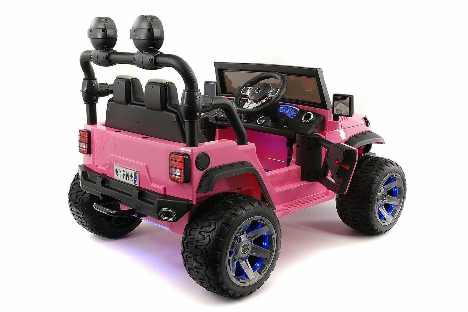 Battery Powered Electric Ride Car Toy Explorer Two Seater