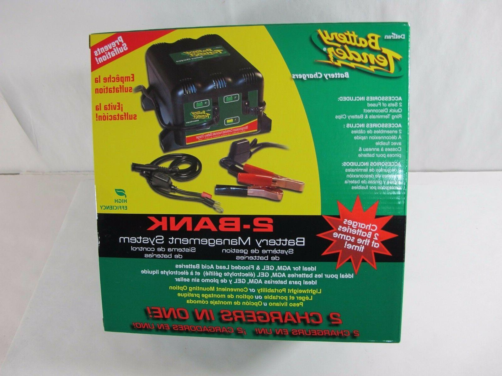 battery tender 2 bank charger