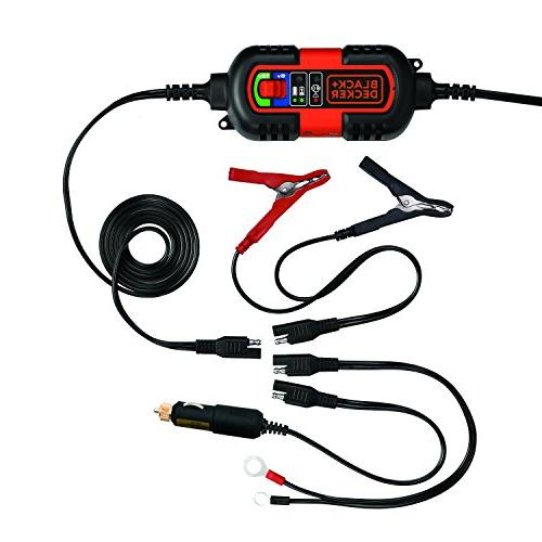 BLACK Battery Maintainer/Trickle Charger