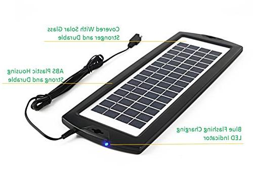 Sunway Solar Charger Charger Solar Panel Power For RV Marine Tractor ATVs