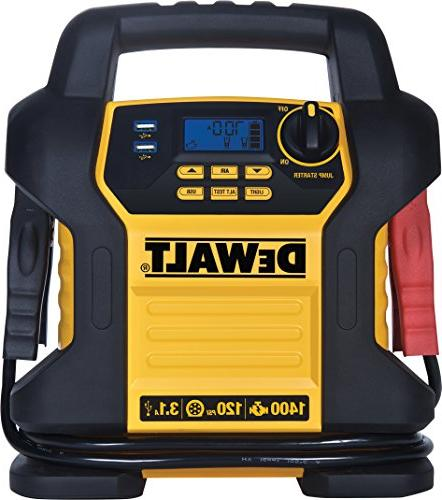 DEWALT DXAEJ14 Jump Instant Amps, Digital USB Ports, and Battery