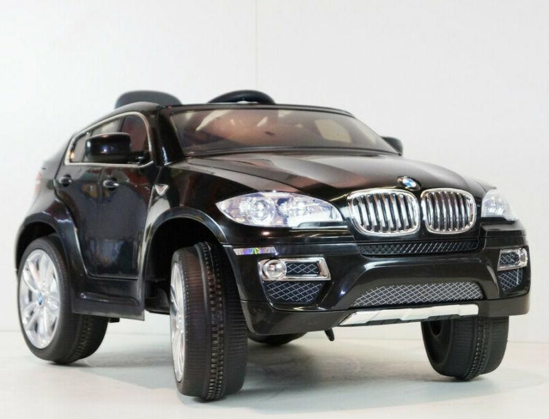 Kids Ride BMW X6 Series 2 Motors 12V Power RC MP3 Gift