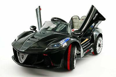 kids ride on sports car spider gt