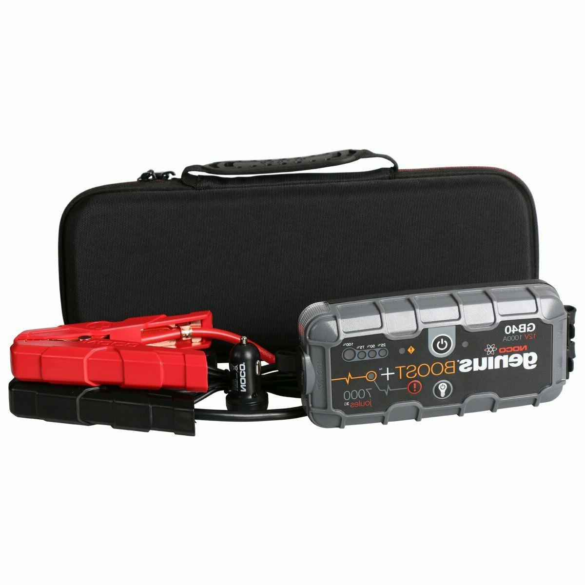 NOCO Battery Jump Charger Amp UltraSafe