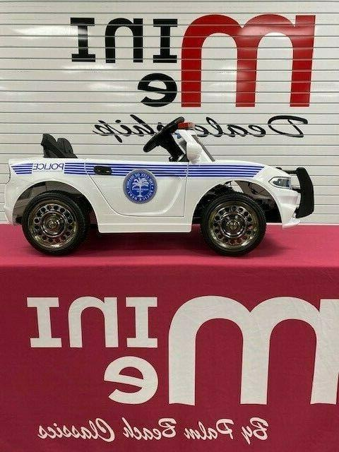 Police on Kids Electric 12v Operated Children's