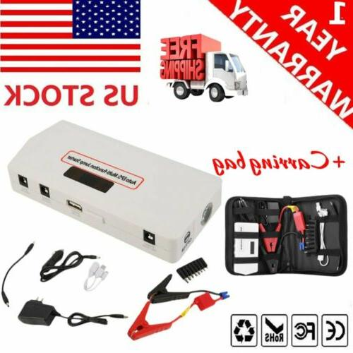 18000mAh Bank Booster Battery Charger Car Starter Auto