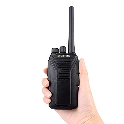 Retevis Rechargeable Security FRS Radio