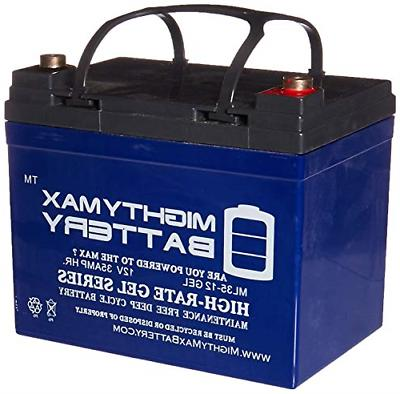 rechargeable gel type battery 12v ml35 12gel