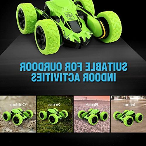 Rodzon Remote Toy Car for Kids & Adults,Double Sided Flips.