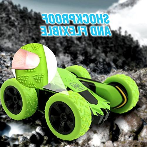 Rodzon Truck with 2.4Ghz Controlled Toy & Adults,Double Sided Flips.