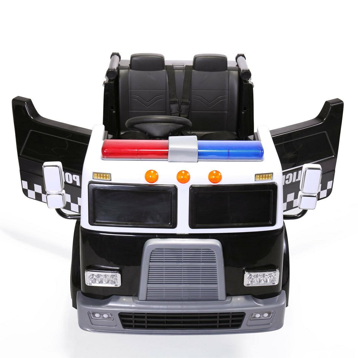 Ride Police Battery Powered 2 Toy Vehicle