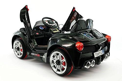 Toy Car MP3 Battery Powered Electric Ferrari Style Remote