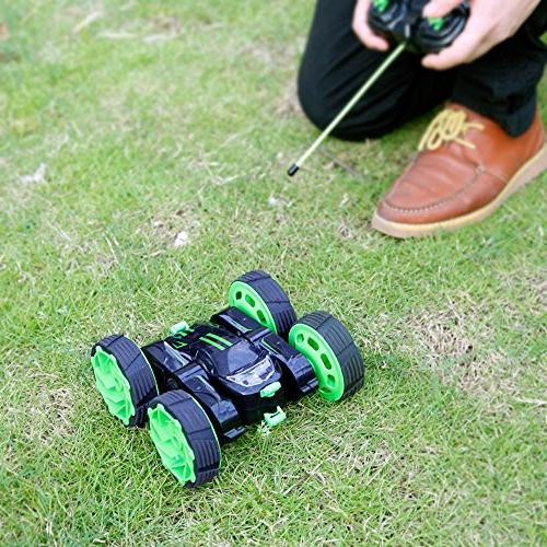RC Cars Remote Control Monster Rotate Double Race Electric Crawler, Unstoppable RTR Speed