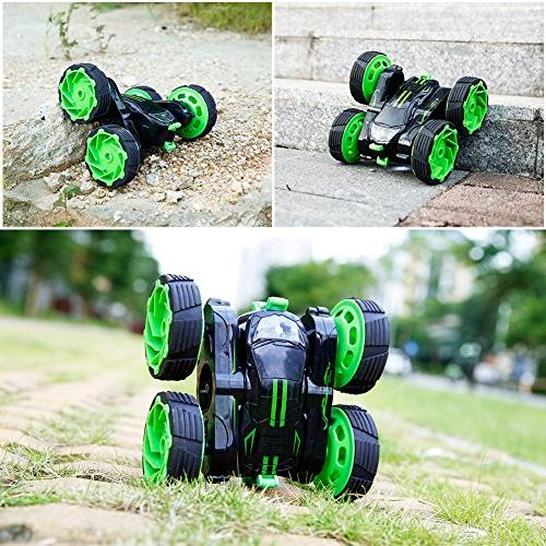 RC Remote Control Truck Rotate Race Electric Rock Crawler, Unstoppable Speed
