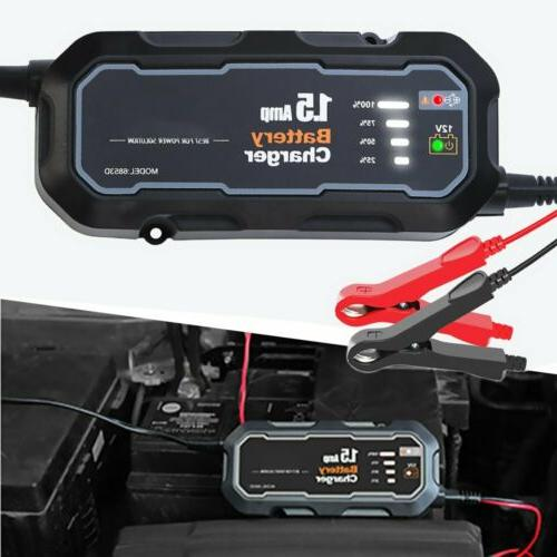 1500mAh Car Starter Booster Jumper Bank