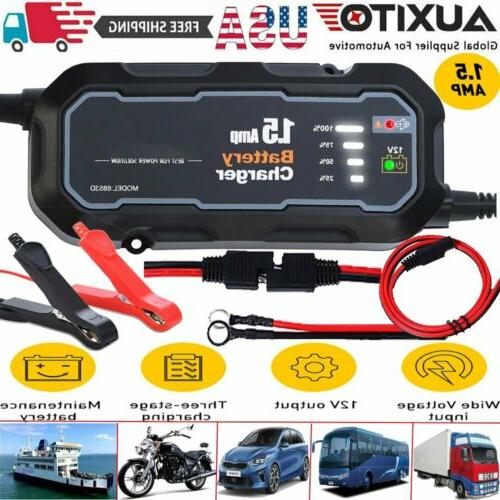 smart car battery charger maintainer for 6v