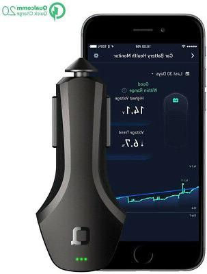 smart car charger quick monitor car battery