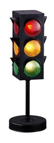 Kidsco Traffic Light Lamp with Base - 8 inches Cool and Fun