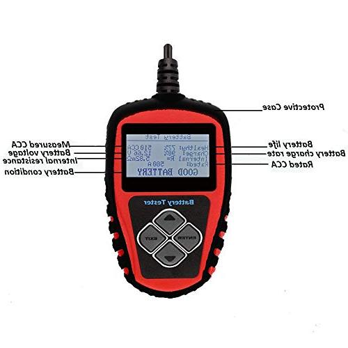 1 auto Battery Alternator& Tester for Domestic & Imported Manual & case.