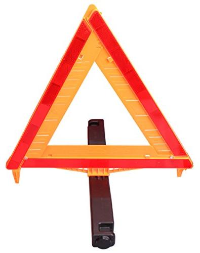 CARTMAN Approved 3PK, Identical United States FMVSS Reflective Warning Road Triangle Kit