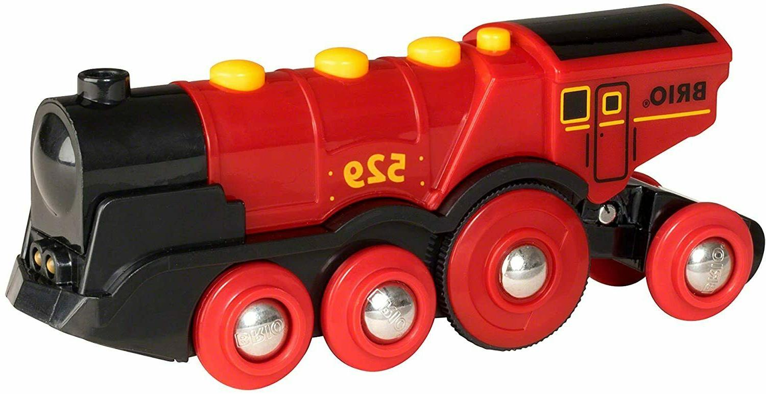 Brio World Red Action Locomotive Battery with