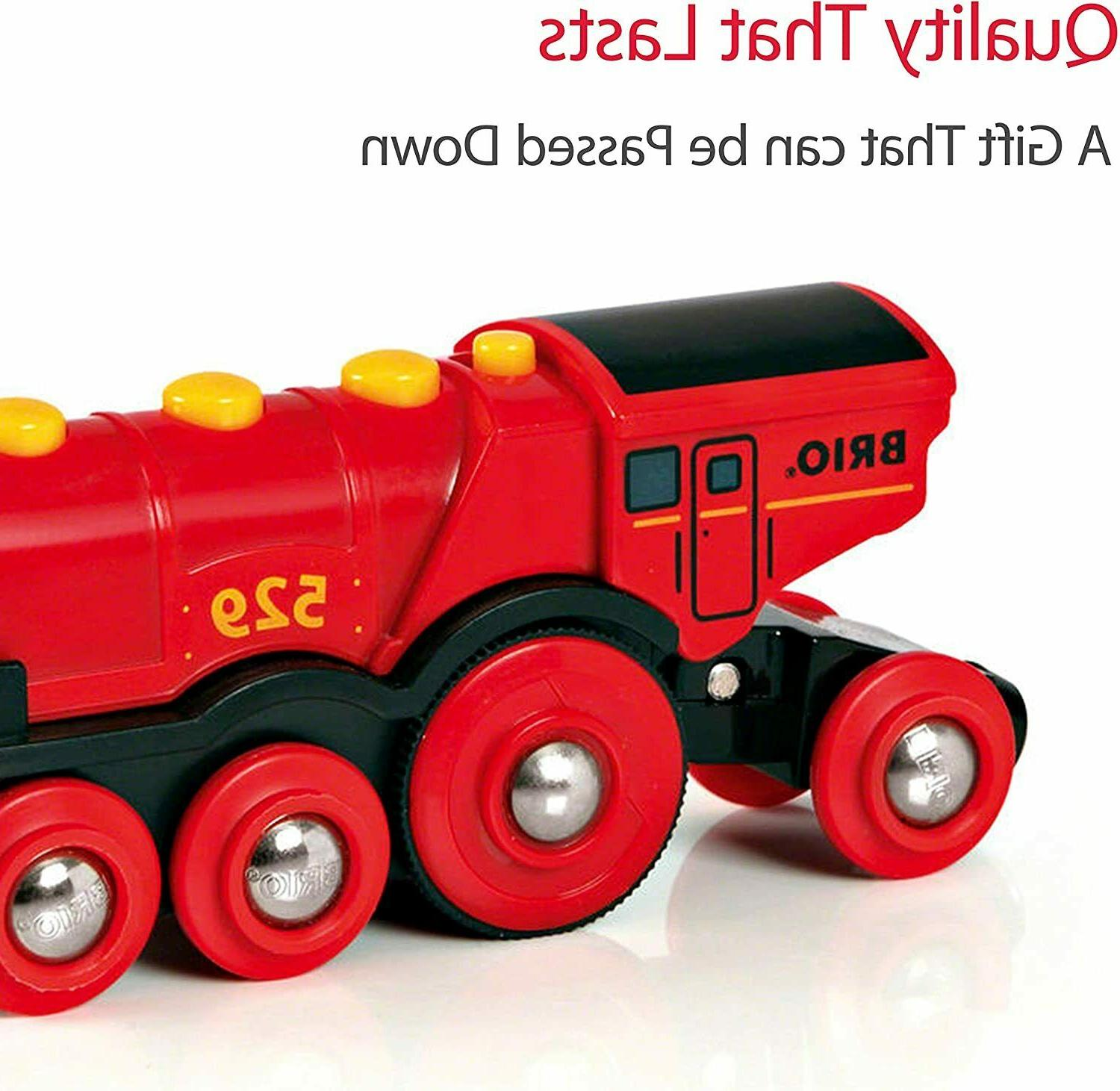 Brio 33592 Red Battery Toy with
