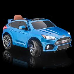 SUPERtrax Licensed Ford Focus RS Kid's Ride On Electric Toy