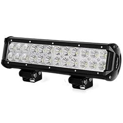 Nilight 12 Inch 72w LED Light Bar Spot Flood Combo Beam Ligh